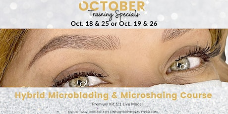 Microblading & Machine Microshading Course tickets
