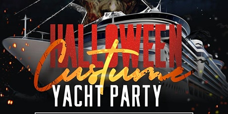 HORROR ON THE HUDSON HALLOWEEN COSTUME  YACHT  NEW tickets