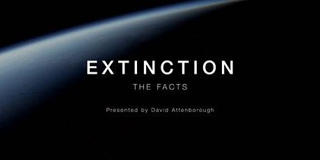 Virtual First Tuesday: discussion of Extinction: The Facts tickets