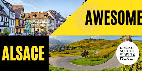 WINE TASTING SEMINAR - AWESOME ALSACE: An Exploration of Teutonic France tickets