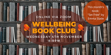 Wellbeing Book Club - Online tickets