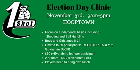 2020 Presidential Election DAY Basketball Camp tickets