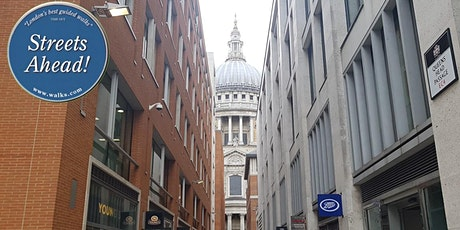Alleyways of the Old City a London Walks virtual tour tickets