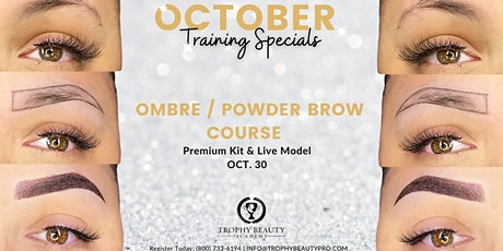 Ombre Powder Brows Course tickets