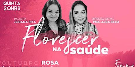 FEMME | QUINTA| 20hrs | Alba Belo | Jesiana Rita ( psicologa e pastora) ingressos