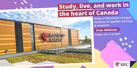Study and live in the heart of Canada – Manitoba tickets