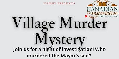 Village Murder Mystery tickets