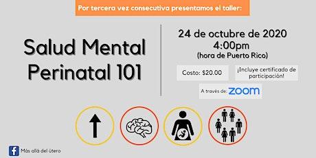 Salud Mental Perinatal 101 (Webinar) tickets
