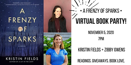Virtual Book Party: A FRENZY OF SPARKS tickets