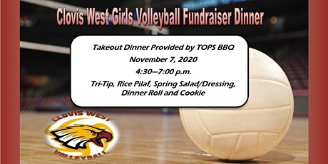 Clovis West Girls Volleyball Take Out  Fundraiser Dinner tickets