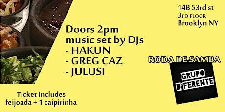 Feijoada Brazilian Brunch Event- Live Music & Ent at 14B Rooftop - Sat 10/3 tickets