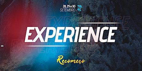 Experience - Dia 2 | 29/09 - 19h45 ingressos