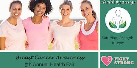 5th Annual Breast Cancer Awareness Health Fair tickets