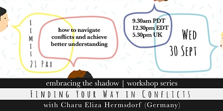 Finding Your Way in Conflicts with Charu Eliza (Germany) tickets