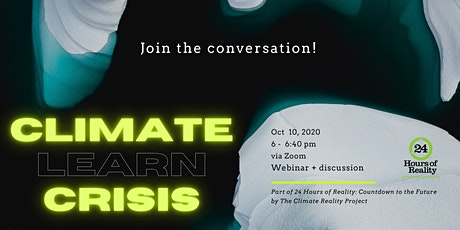 Conversations about change: learn about the climate crisis tickets