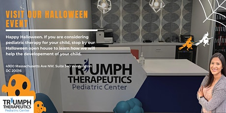 Triumph Pediatric Center  Halloween Open House tickets