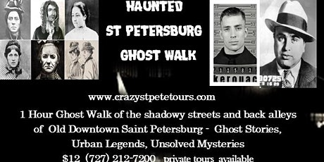 Haunted St Petersburg Ghost Walk tickets