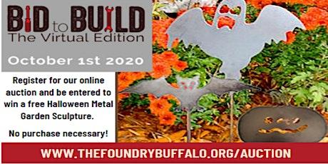 Bid to Build Online Auction tickets