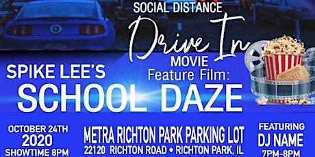 TAZ & Zeta Zeta Drive-In Movie - Feature Film: School Daze tickets