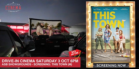 Drive-In Movies at the Showgrounds - THIS TOWN (M) tickets