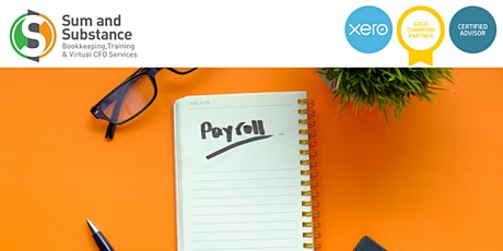 Managing Your Payroll in Xero tickets