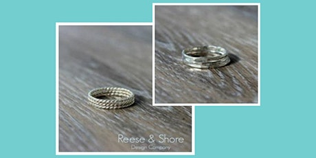 Sterling Silver Stacking Rings Tutorial *SOLD OUT* tickets