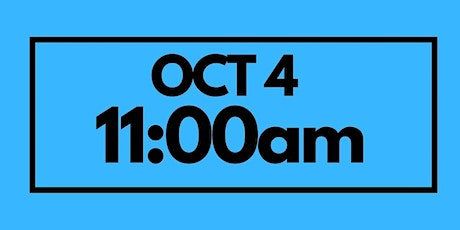 11:00AM Oct 4 - Services & Kids Registration tickets