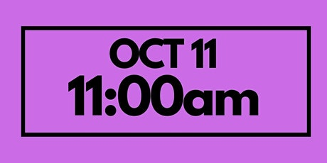 11:00AM Oct 11 - Services & Kids Registration tickets