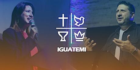 IEQ IGUATEMI - CULTO  DOM - 04/10 - 18H ingressos