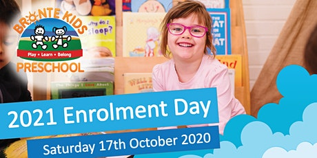Bronte Kids Preschool 2021 Enrolment Day tickets
