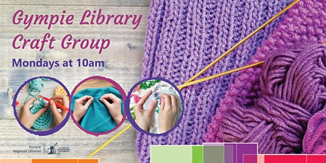Gympie Library Craft Group tickets