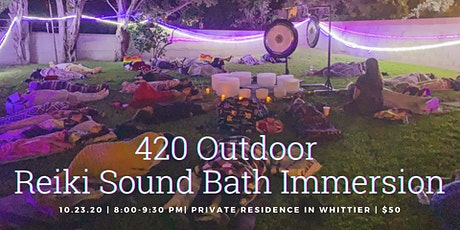 420 Outdoor Reiki Sound Bath Immersion tickets