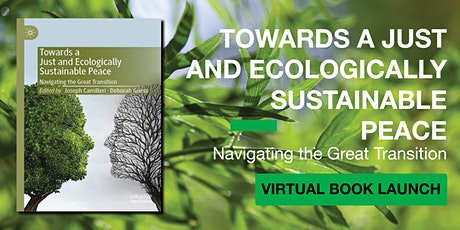 Virtual Book Launch: Towards a Just and Ecologically Sustainable Peace tickets