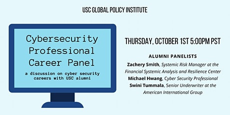 Cybersecurity Professional Career Panel tickets