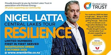 Nigel Latta | Resilience | ALEXANDRA