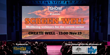 Screen Well webinar series - 'Create Well' session tickets