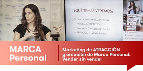 MARKETING de ATRACCIÓN y MARCA PERSONAL - Vender sin vender boletos