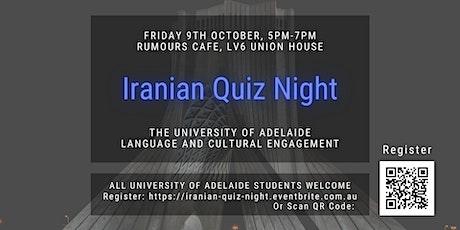 LCE Iranian Quiz Night tickets