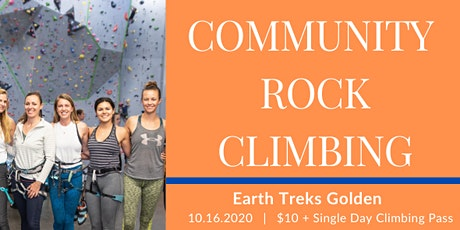 Community Climbing Meet Up with She's Independent tickets