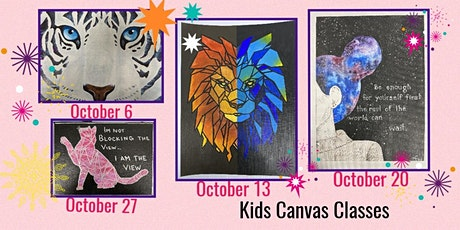 Tuesdays Canvas Classes tickets