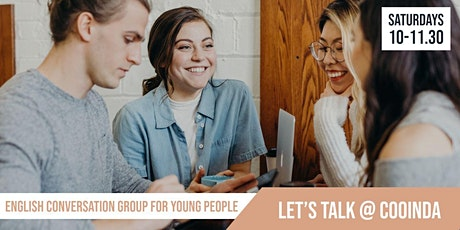 Lets Talk! | English Conversation Group for Young People | Cooinda