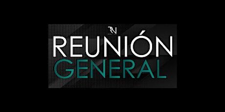 Reunión General - RN México - 1:00pm - 11 octubre 2020 boletos