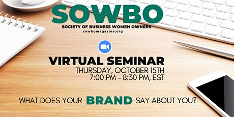 What Does Your Brand Say About You? tickets