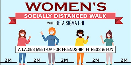 Ladies Socially Distanced Walk tickets