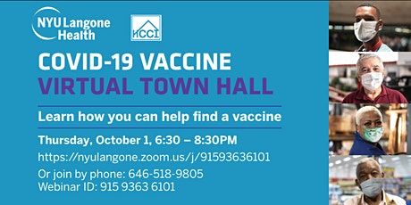 Learn the FACTS About the COVID-19 Vaccine tickets