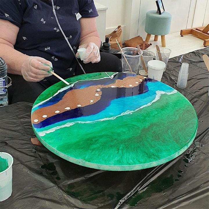 Resin Art Workshop for Beginners image