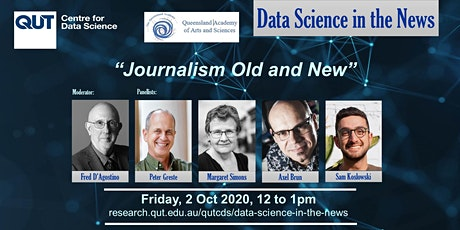 Data Science in the News - Journalism Old and New tickets