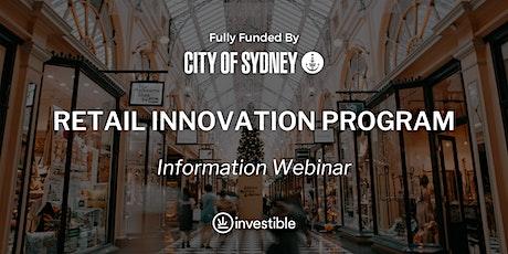 Retail Innovation Program Information Webinar tickets