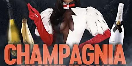 Champagnia masquerade ball tickets