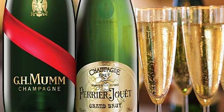 The Tale of Two houses.. Champagne Mumm and Champagne Perrier-Jouët tickets